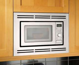 in-wall microwave with a trim kit